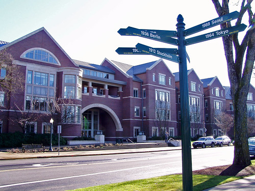 university of oregon dorms. the University of Oregon