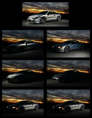 image build (Andrew Barshinger Photography) Tags: sunset car eclipse image 99 build strobe