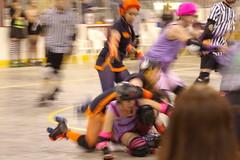 Dolls vs. Slashers (35) (cthomps1980) Tags: city party dolls slumber steel roller derby demons wrecking slashers