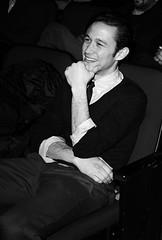 """Joseph Gordon Levitt at the  """"Hesher"""" Premiere (sundancefilmfestival) Tags: ut unitedstates parkcity"""