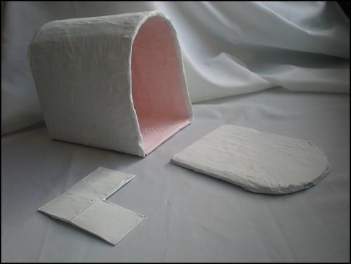 Valentine Papier Mache Mailbox