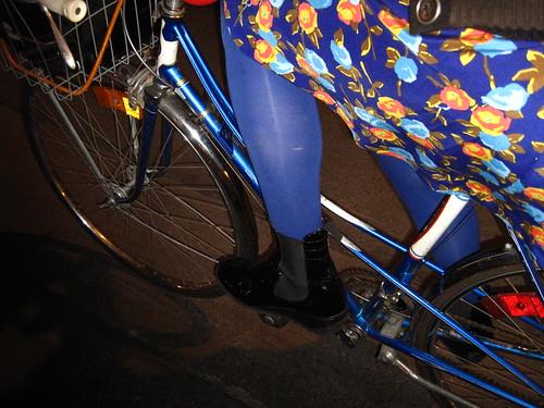 blue bootie