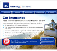 Axa website