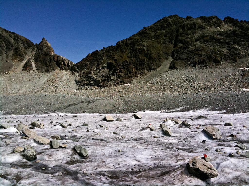 Crossing Glacier de Cheilon - 1