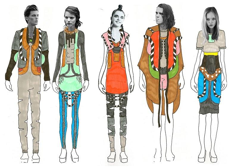The Fashion Totem illustration 2
