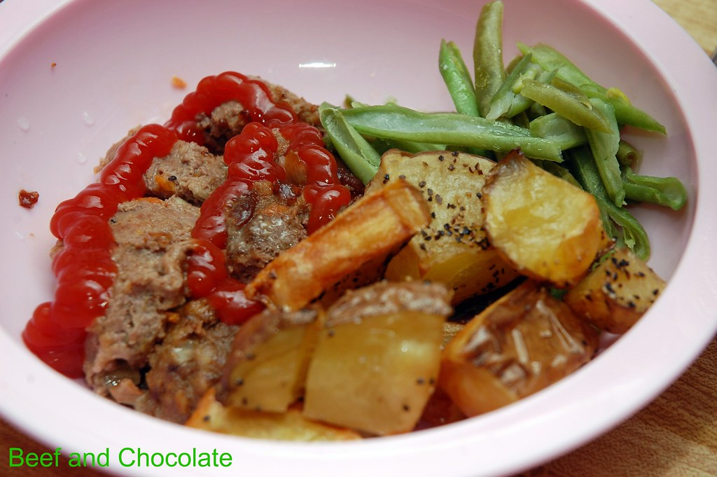 Beef and Chocolate: Meatloaf