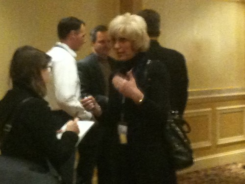 Orly Taitz in Nashville (Photo by David Weigel)