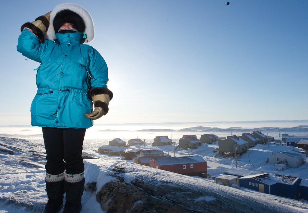Michéle Bertol – ONE-Unterstützerin am Polarkreis