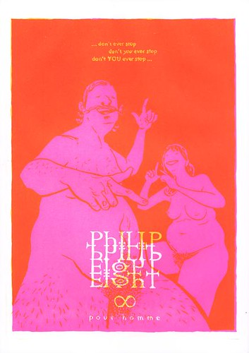 Philip Eight yellow/fluorescent pink