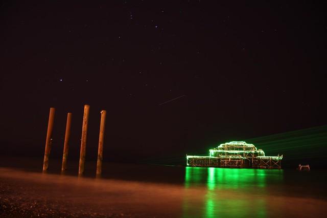 Laser Pier