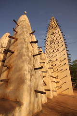 Bobo Dioulassis impressive mosque (Raphael Bick) Tags: africa travel burkina fao