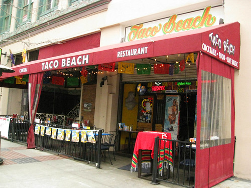 6 Stop Fish Taco Crawl: Taco Beach