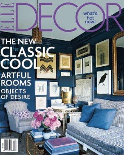 Elle Decor March Cover