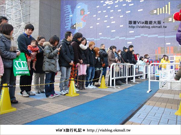 【via關西冬遊記】大阪海遊館~冬季限定!無敵可愛企鵝遊行來囉!12