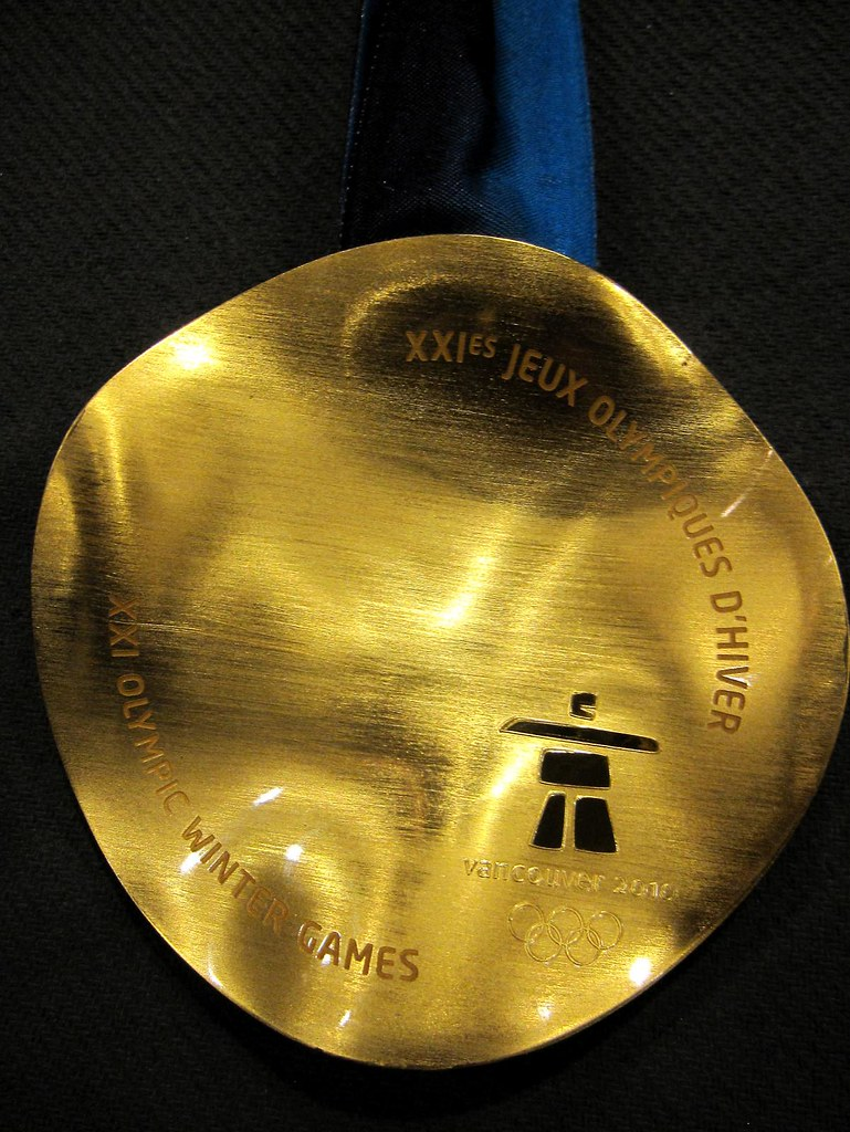 2010 Vancouver Olympic Medals