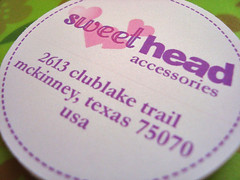 sweethead return address labels