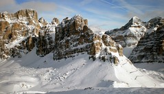 Giro della grande guerra: Lagazuoi -198 (Alessandra---) Tags: winter snow ski mountains montagne paisagem neve inverno alpi montagna sci dolomiti dolomitisuperski sciare veneto falzarego lagazuoi