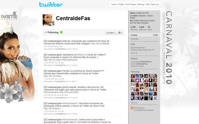Tema do Twitter também foram atualizados todos os dias
