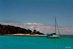 Segeltörn,Karibik (doro 51 off/on) Tags: boats reisen wasser ships boote grün blau schiffe karibik segeltörn klantillen