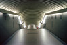 (Andrés Medina) Tags: madrid city film 35mm canon rangefinder indoor symmetry analogue passage corredor canonet28 kodakektar100 ektar100 andresmedina