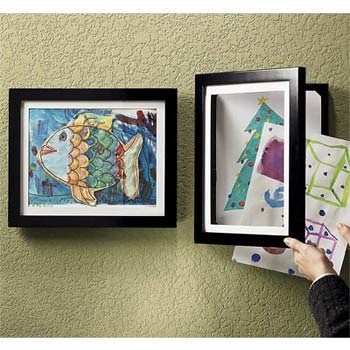 easy change frame it kids art framed1 - Easy Change Artwork Frames