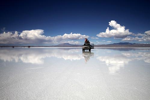 Bolivian Salt Flats. Bolivian Salt Flats