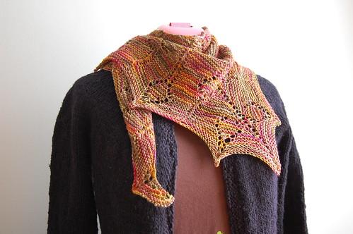 milkweed shawl
