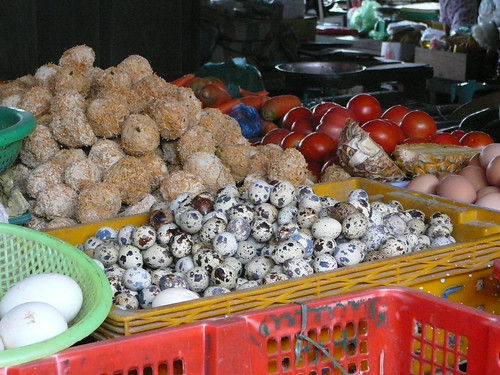 Eggs at the Hoi An Markets