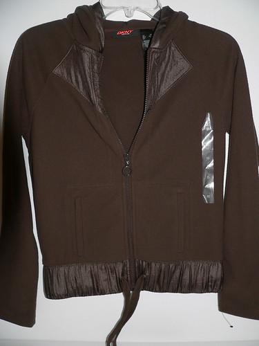 2010-423 - DKNY Active Hoodie Sweater Color: Dark Brown RM99.00