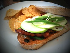 Roast duck sandwich, Kith Cafe