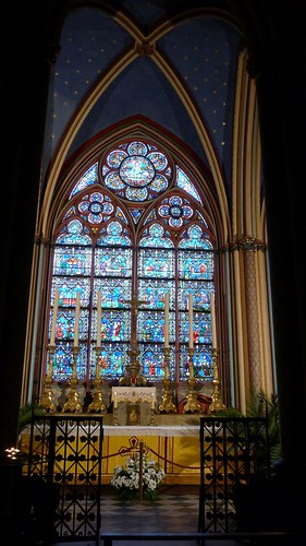Side Chapel with Painted Ceiling - Notre Dame