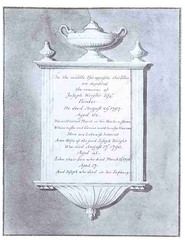 Design for a memorial to Joseph Wright (Enlightenment!) Tags: sketch memorial derbyshire enlightenment 1798 moneypenny josephwright enlightenmentderbyshire