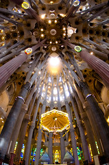 Sagrada Famlia - Barcelona, Spain (shin--k) Tags: world barcelona heritage spain famlia gaud catalunya sagrada worldheritage sagradafamlia espanya