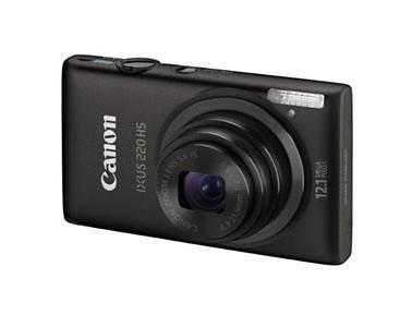 Canon Ixus 220 HS Digital Camera in Black