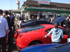 Ferrari (mangopulp2008) Tags: new march italian 9 ferrari meet krispy gumball kreme malden krespy gumballmeetkrispykreme