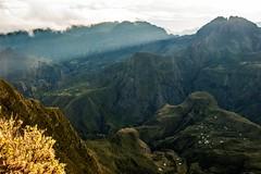 Mafate (dono heneman) Tags: sky france nature rock forest montagne sunrise nikon village nikond70s ciel nuage paysage cirque rocher montain forêt vegetal roche leverdesoleil mafate végétation iledelaréunion domtom végétal maïdo