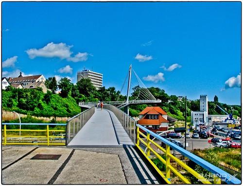 Neuer Stadtaufgang Sassnitz