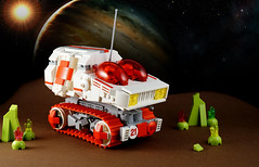 Febrovery 2017 Day 17 (TFDesigns!) Tags: lego space rover febrovery medical ambulance emergency response