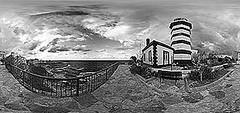 ile Feneri Siyah-Beyaz (sanalfotograf) Tags: deniz sahil tatil kumsal fener siyahbeyaz ile denizfeneri dalgakran