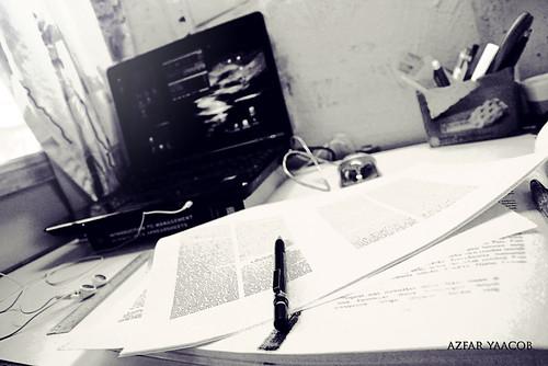exam mood