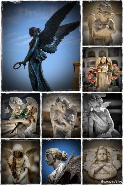 Ángeles del cementerio