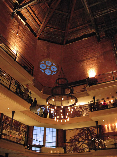 Inside the Liberty Hotel.