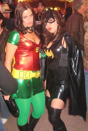 Robin and Bat Girl  sc 1 st  Flickriver & Robin and Bat Girl - a photo on Flickriver