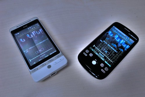 Android HTC Hero & HT-03A