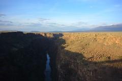 rio grande gorge (tippy tippy) Tags: newmexico goldenlight riograndegorgebridge