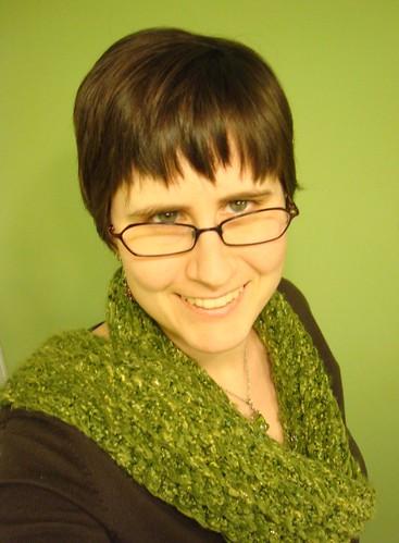 Self Portrait on Green