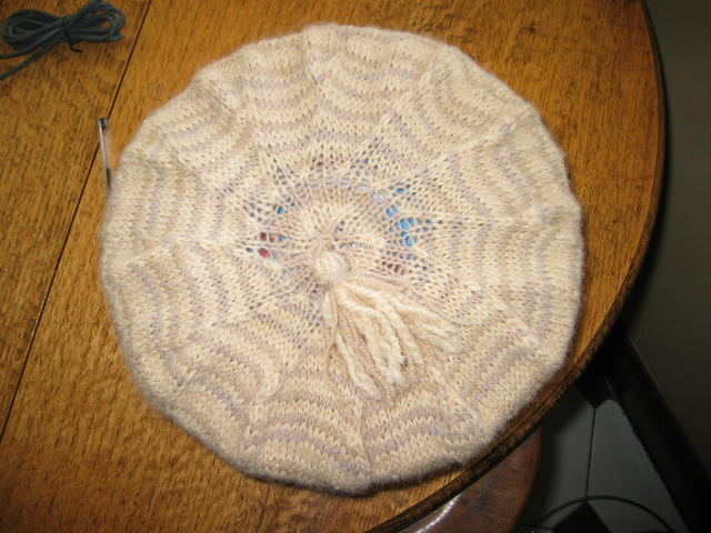 beret knitting0007