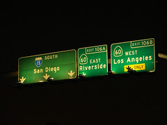 Sign Gantry @ 15+60 (mike_s_etc) Tags: road sign highway 15 freeway interstate 60 i15 gantry sr60 stateroute pomonafreeway signgantry ontariofreeway