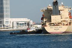 San Diego Bay (Thank You 7.5 Million Visitors!) Tags: tugboat sandiegobay dolebananaboat