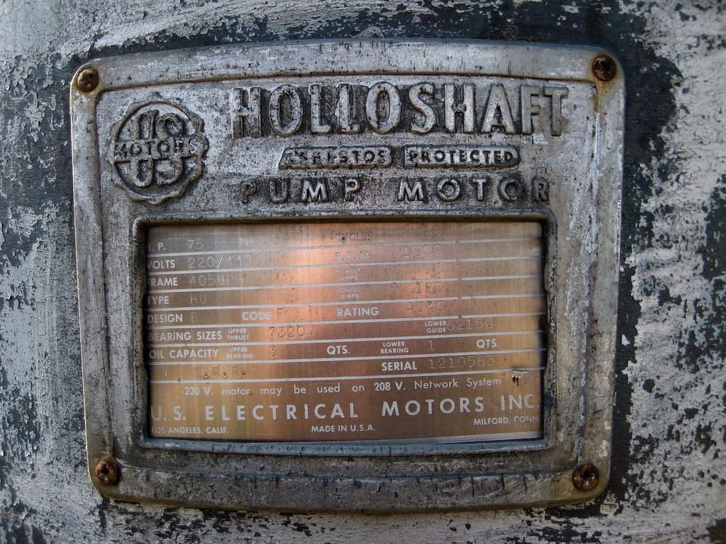 Holloshaft Pump Motor